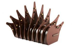 bûche de noël de chez La maison du chocolat