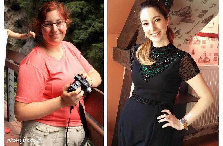 Jaina avant et après