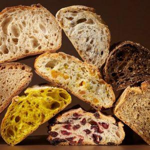 Différents pains